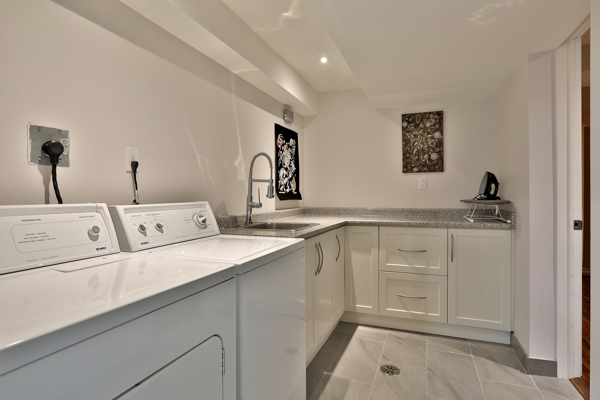 Laundry Room at 8 Parmbelle Crescent, Parkwoods-Donalda, Toronto