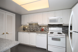 Kitchen at 309 - 18 Concorde Place, Toronto