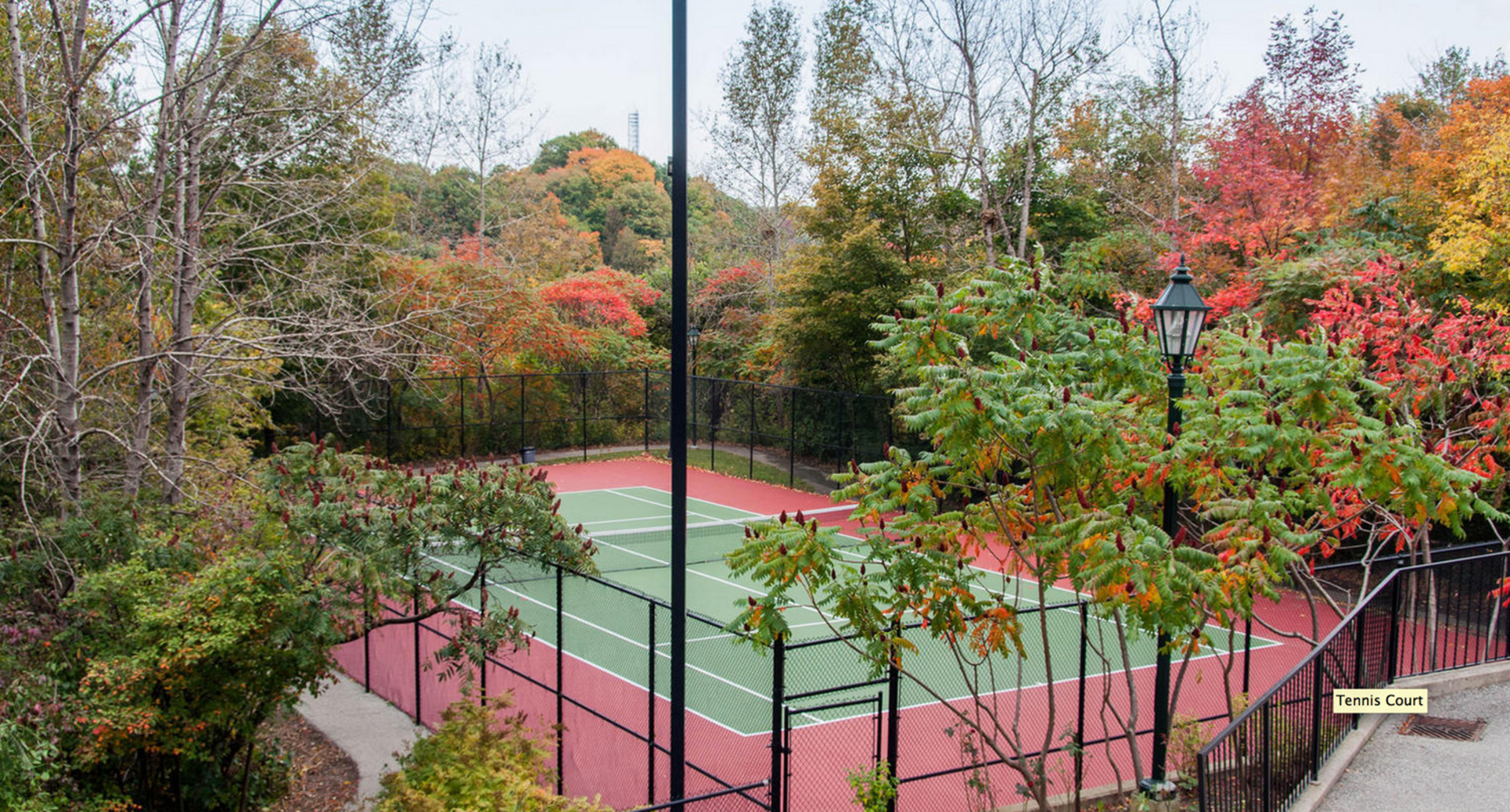Tennis Court at 309 - 18 Concorde Place, Toronto