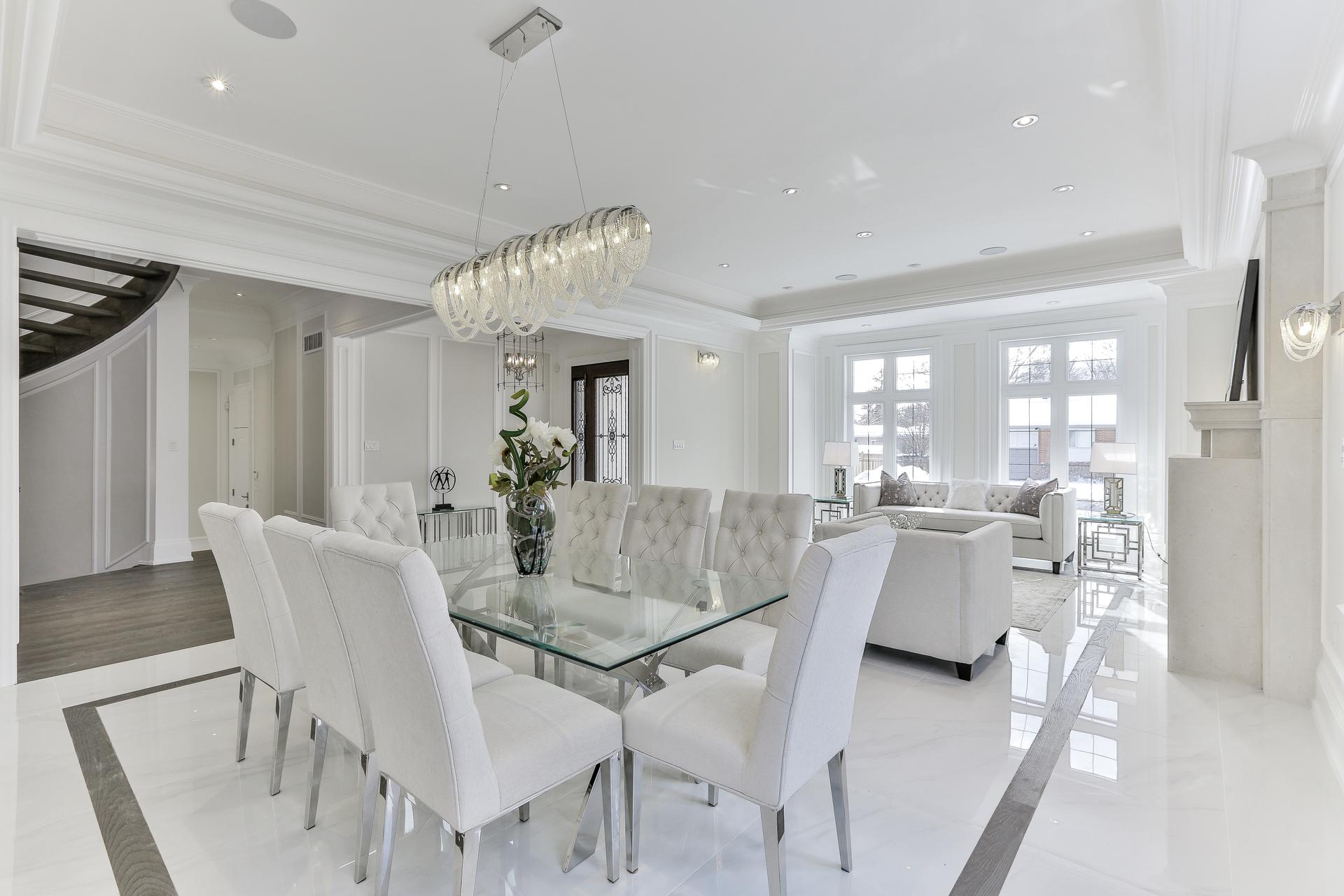 Dining Room at 36 Laurentide Drive, Parkwoods-Donalda, Toronto