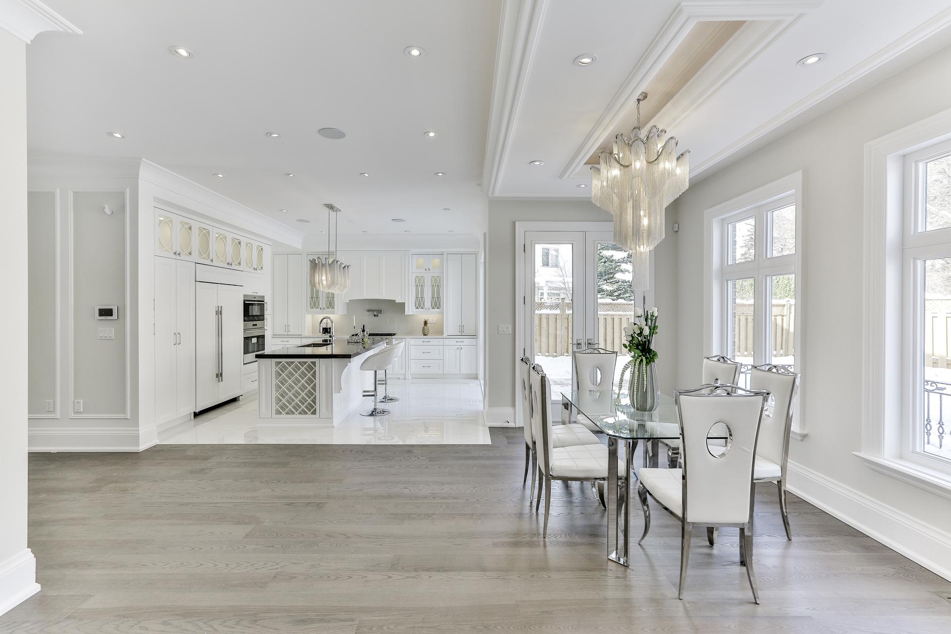 Kitchen & Breakfast Room at 36 Laurentide Drive, Parkwoods-Donalda, Toronto