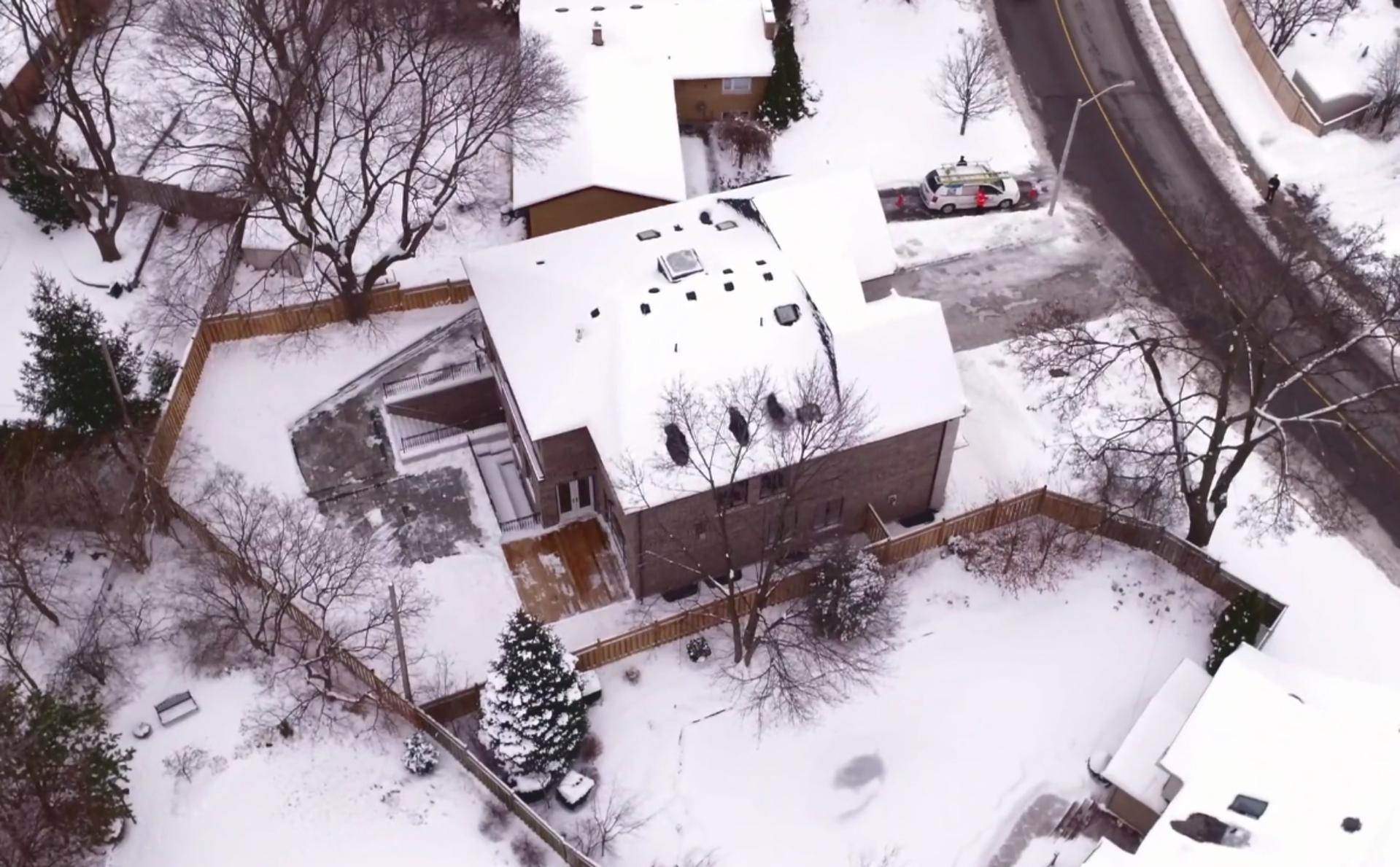Aerial at 36 Laurentide Drive, Parkwoods-Donalda, Toronto