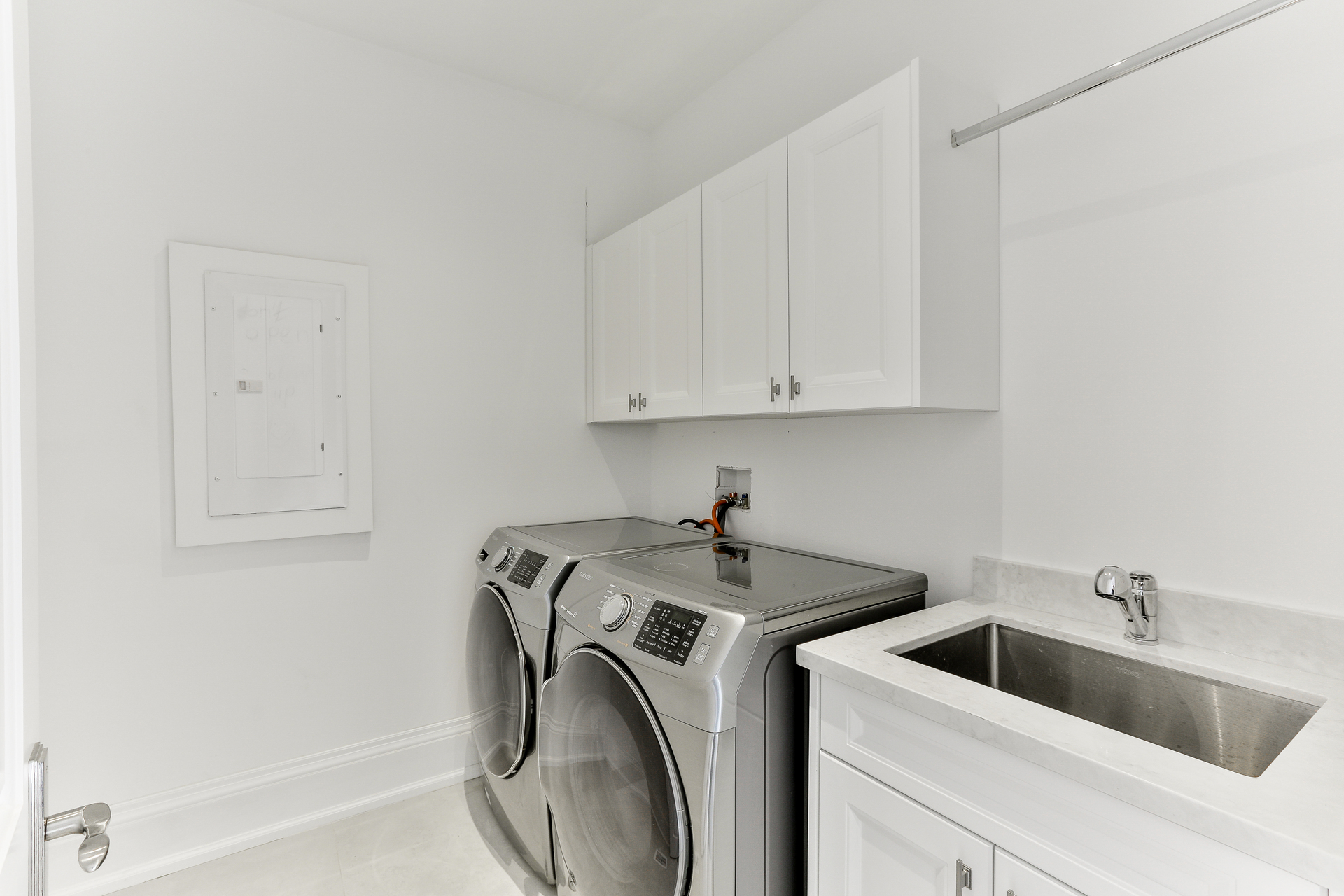 2nd Level Laundry Room at 36 Laurentide Drive, Parkwoods-Donalda, Toronto