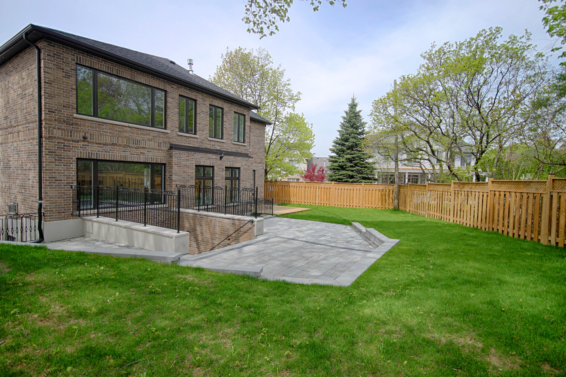 Backyard at 36 Laurentide Drive, Parkwoods-Donalda, Toronto
