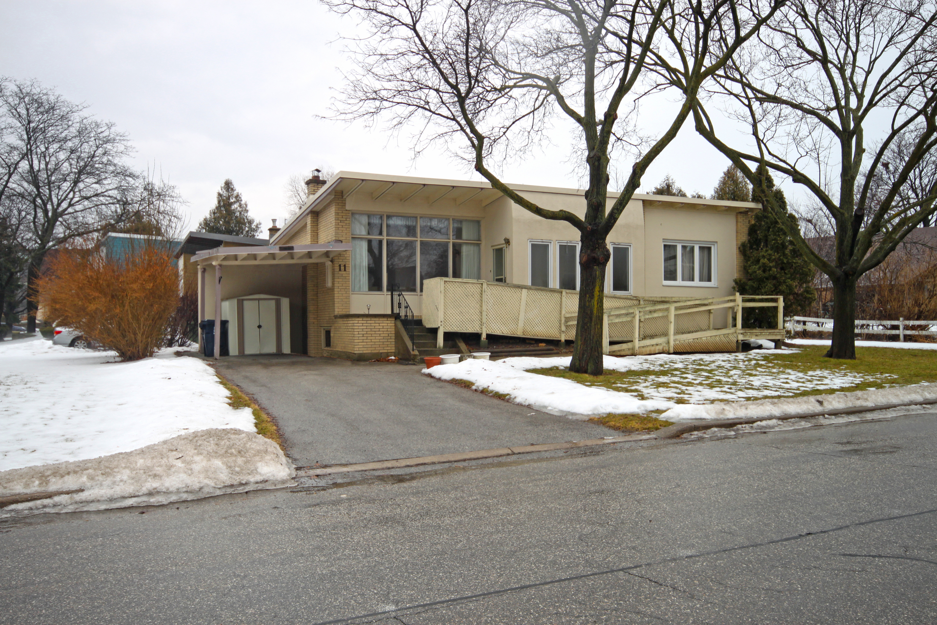 Front at 11 Belton Road, Banbury-Don Mills, Toronto