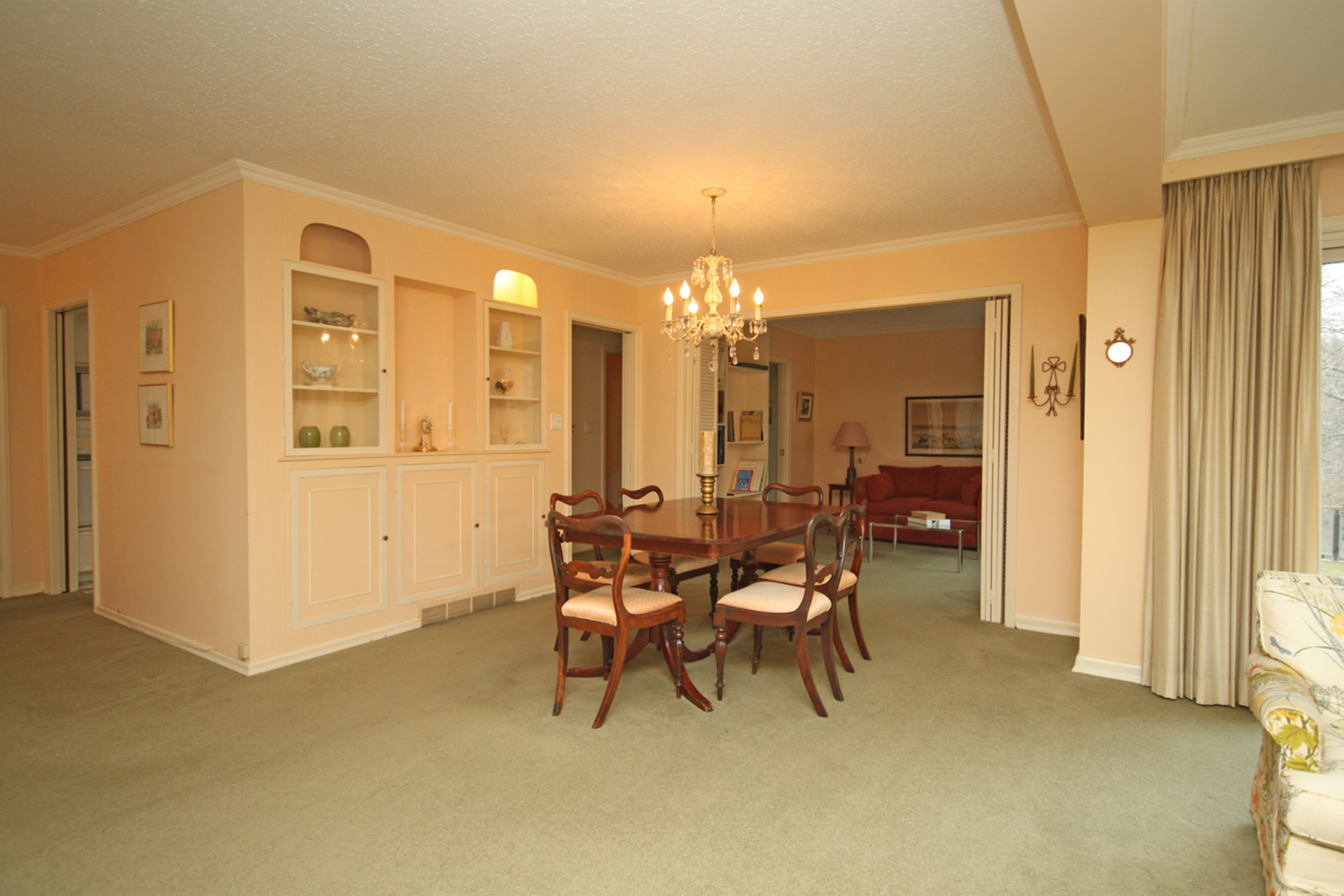 Dining Room at 38 Crossburn Drive, Banbury-Don Mills, Toronto