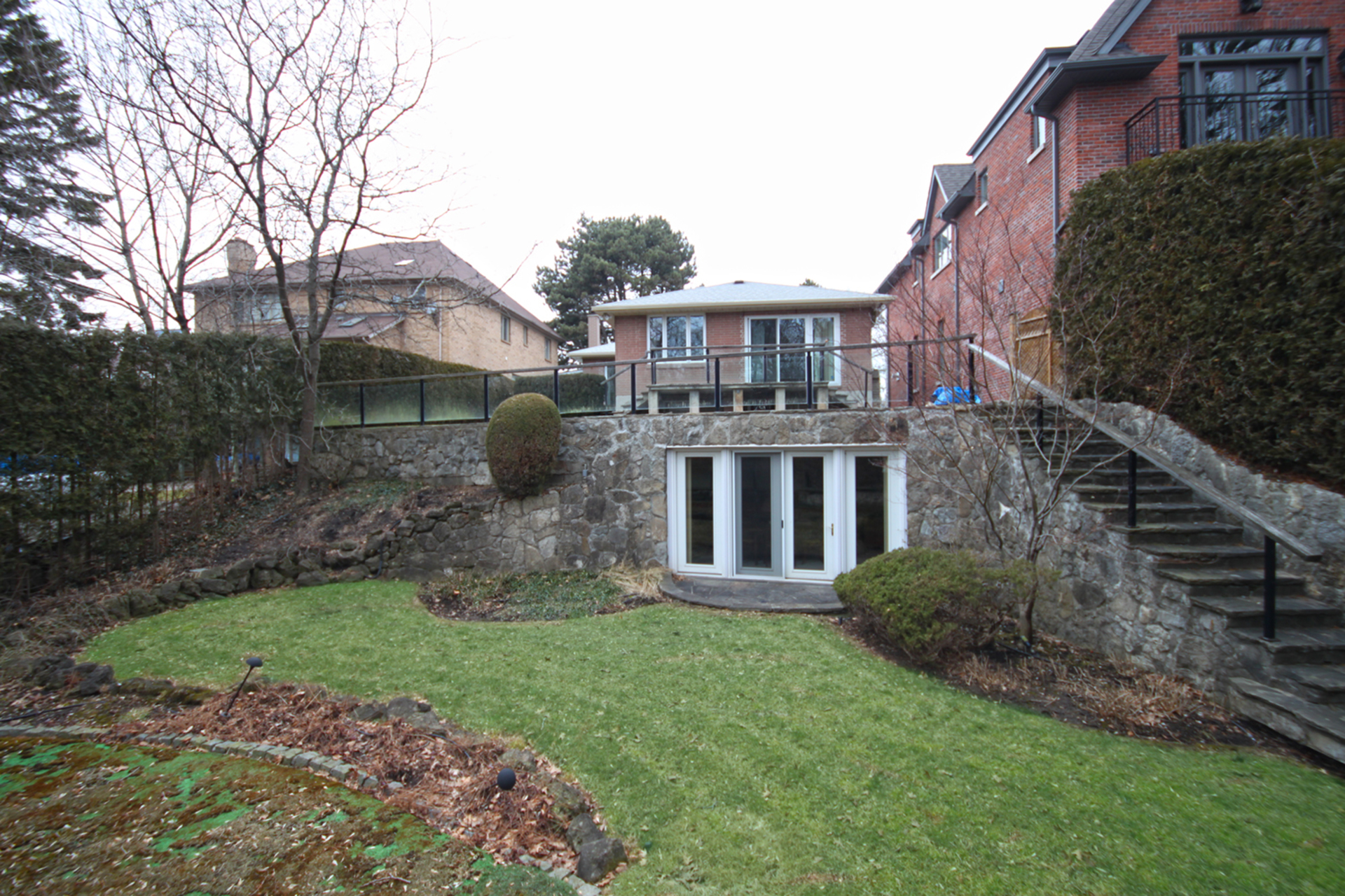 Backyard at 38 Crossburn Drive, Banbury-Don Mills, Toronto