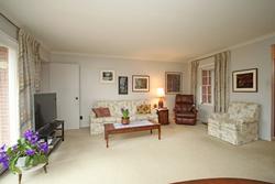 Living Room at 63 Hesketh Court, Victoria Village, Toronto