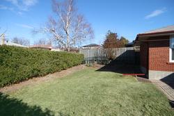 Backyard at 63 Hesketh Court, Victoria Village, Toronto