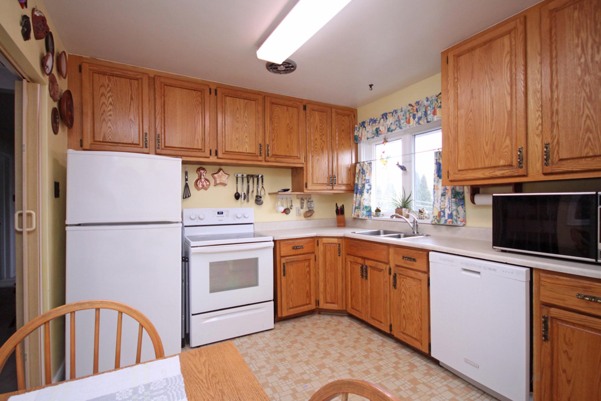 Kitchen at 63 Hesketh Court, Victoria Village, Toronto