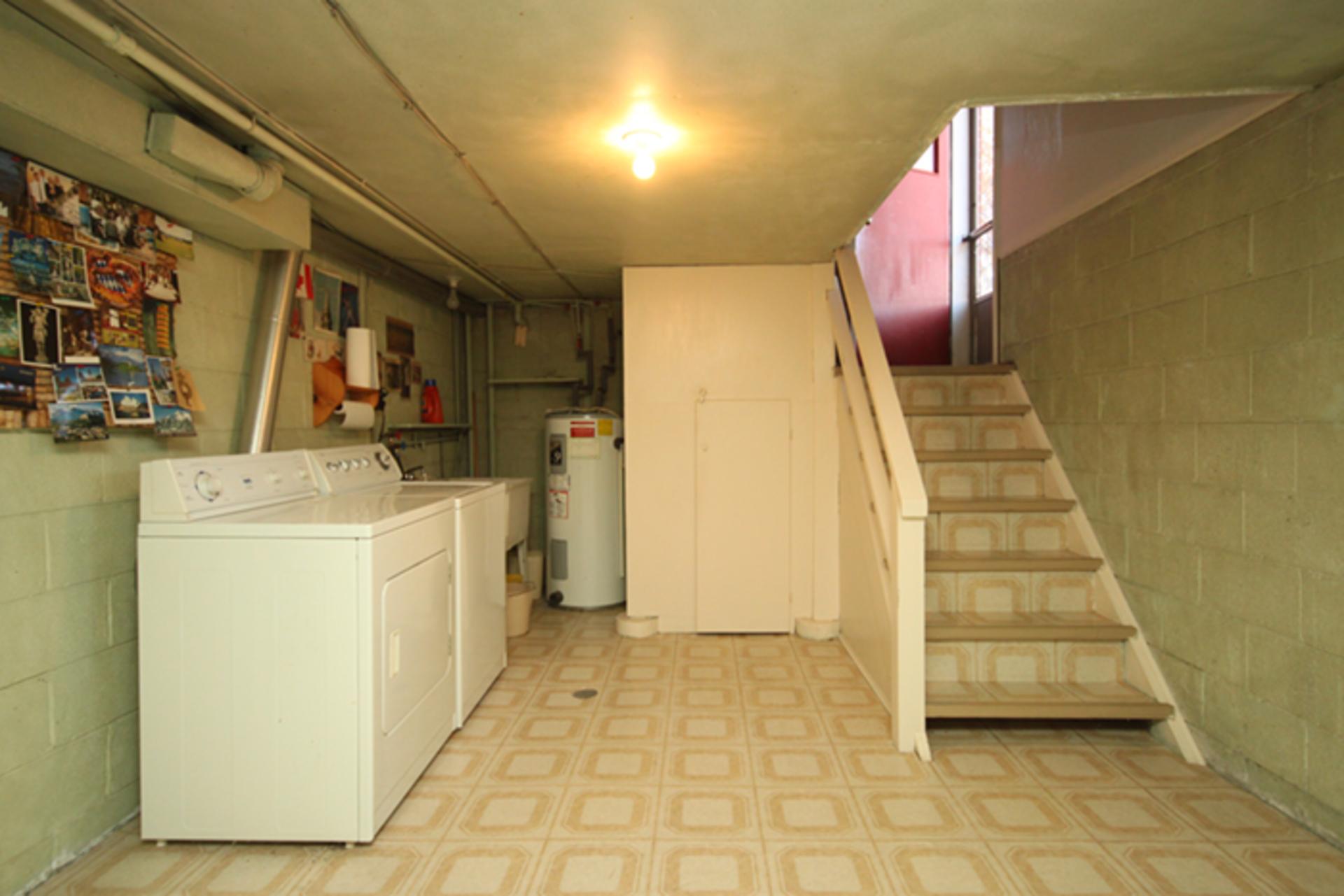 Laundry Room at 63 Hesketh Court, Victoria Village, Toronto