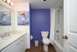 4 Piece Bathroom at 101 - 3 Concorde Place, Banbury-Don Mills, Toronto