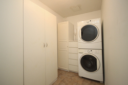 Laundry & Storage Room at 101 - 3 Concorde Place, Banbury-Don Mills, Toronto