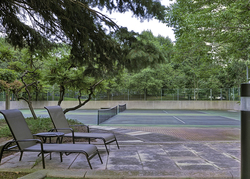 Tennis Courts at 101 - 3 Concorde Place, Banbury-Don Mills, Toronto