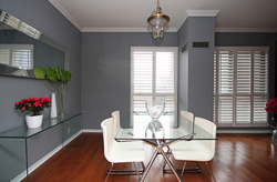 Dining Room at 101 - 3 Concorde Place, Banbury-Don Mills, Toronto