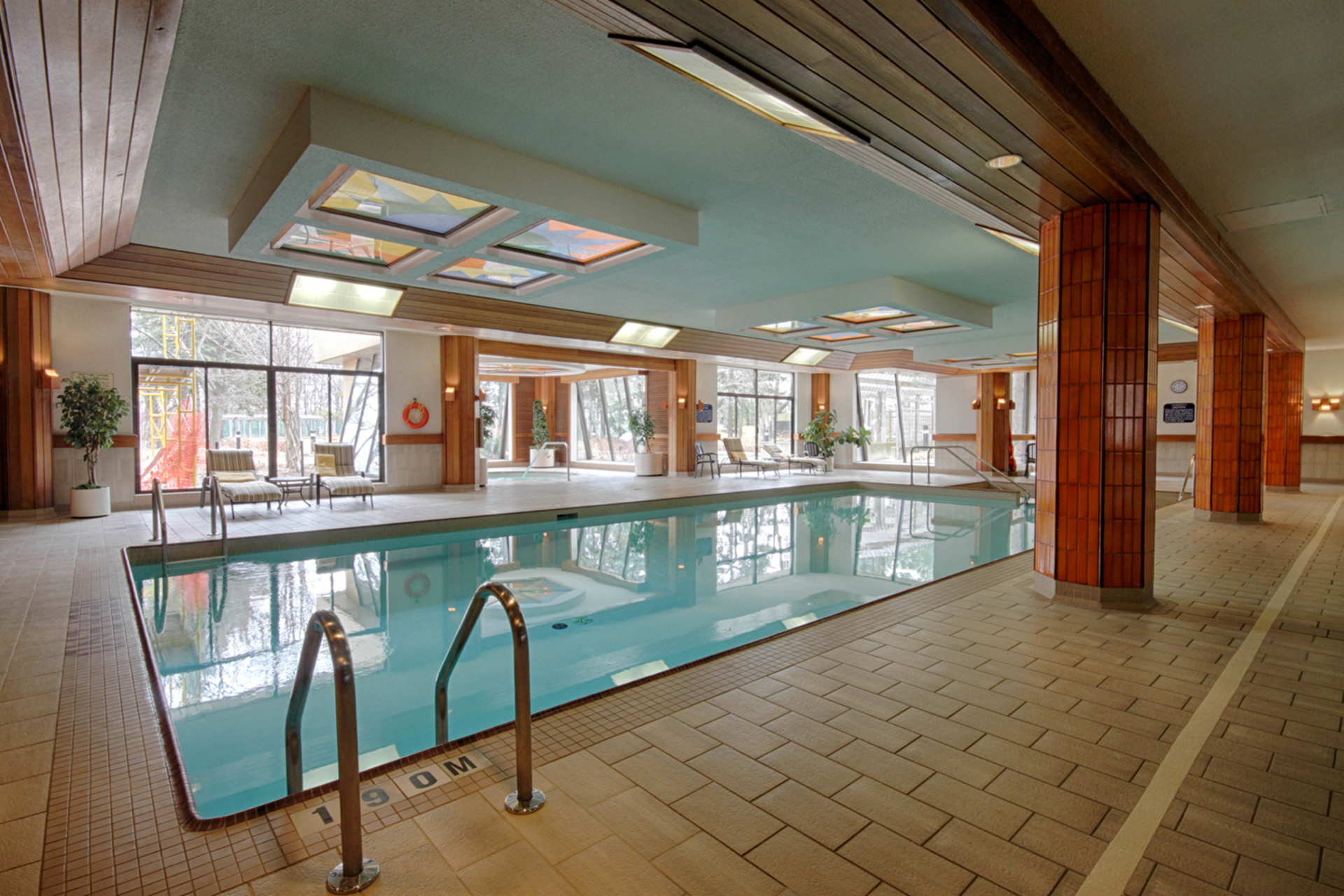 Indoor Pool at 101 - 3 Concorde Place, Banbury-Don Mills, Toronto