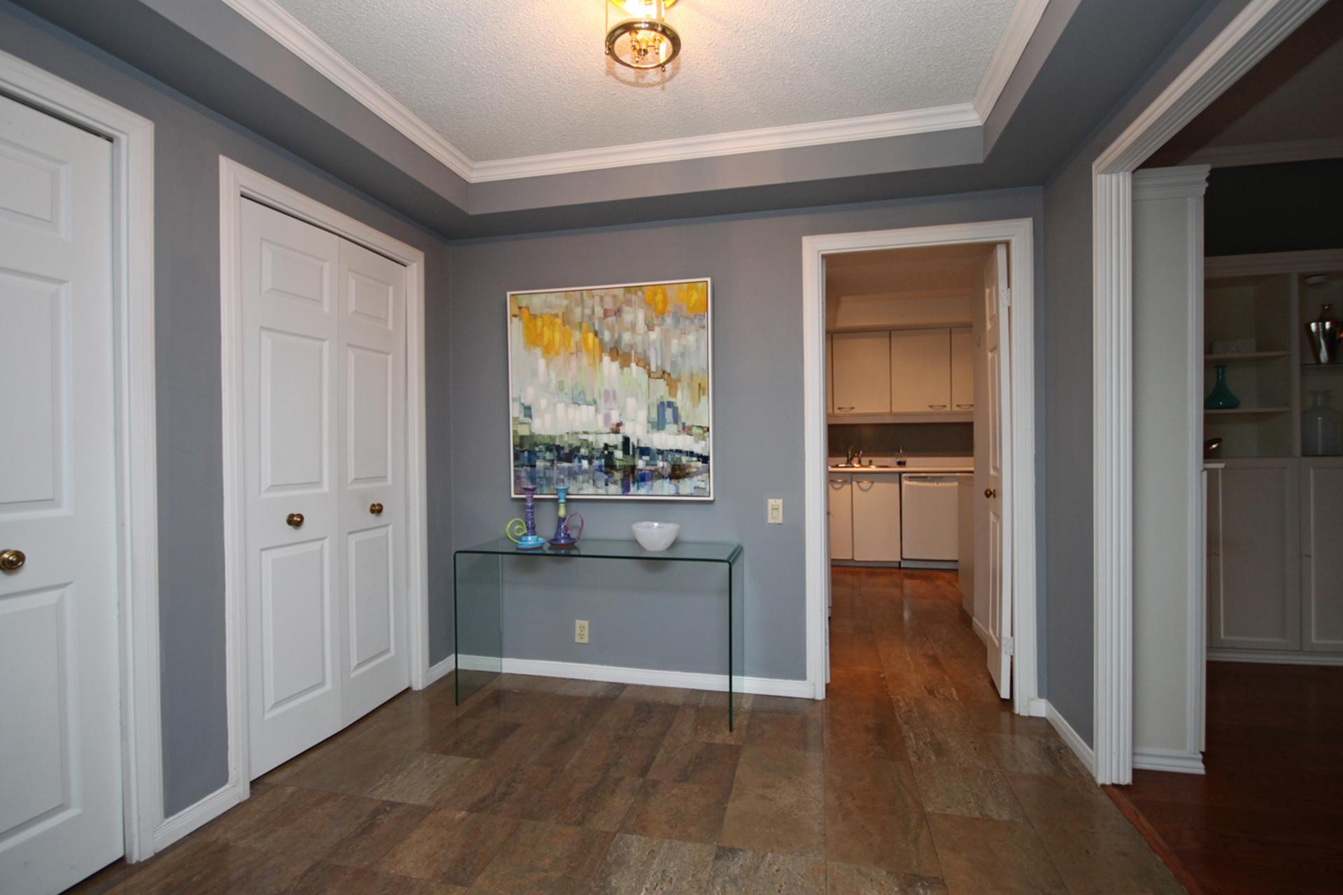 Foyer at 101 - 3 Concorde Place, Banbury-Don Mills, Toronto