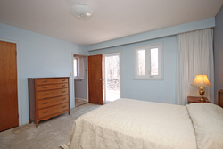Master Bedroom at 17 Redwillow Drive, Parkwoods-Donalda, Toronto