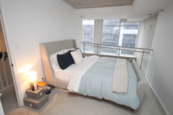 Master Bedroom at 811 - 1029 King Street W, Niagara, Toronto