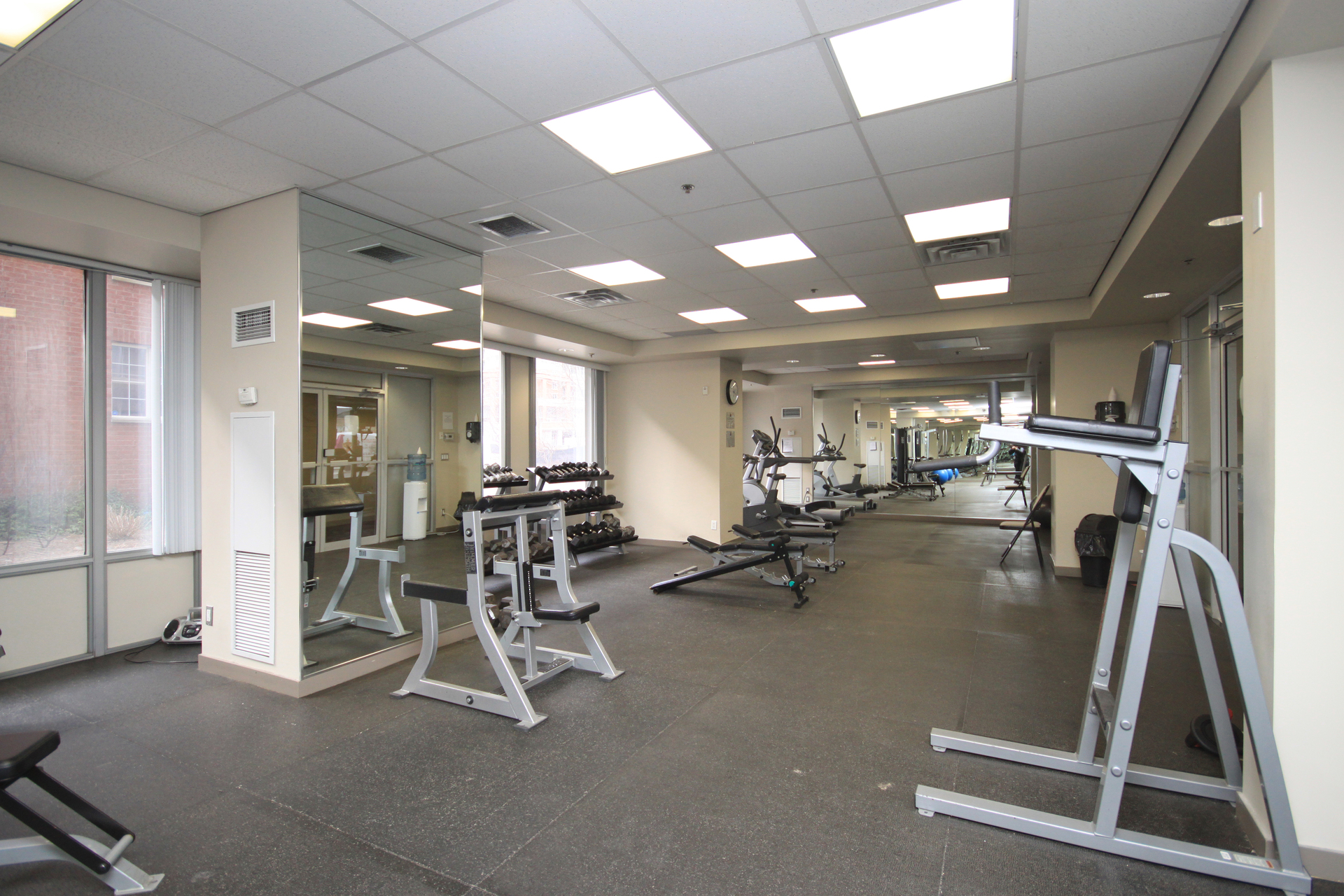 Exercise Room at 811 - 1029 King Street W, Niagara, Toronto