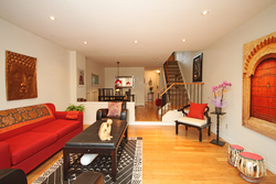 Living Room at 28 Dutch Myrtle Way, Banbury-Don Mills, Toronto