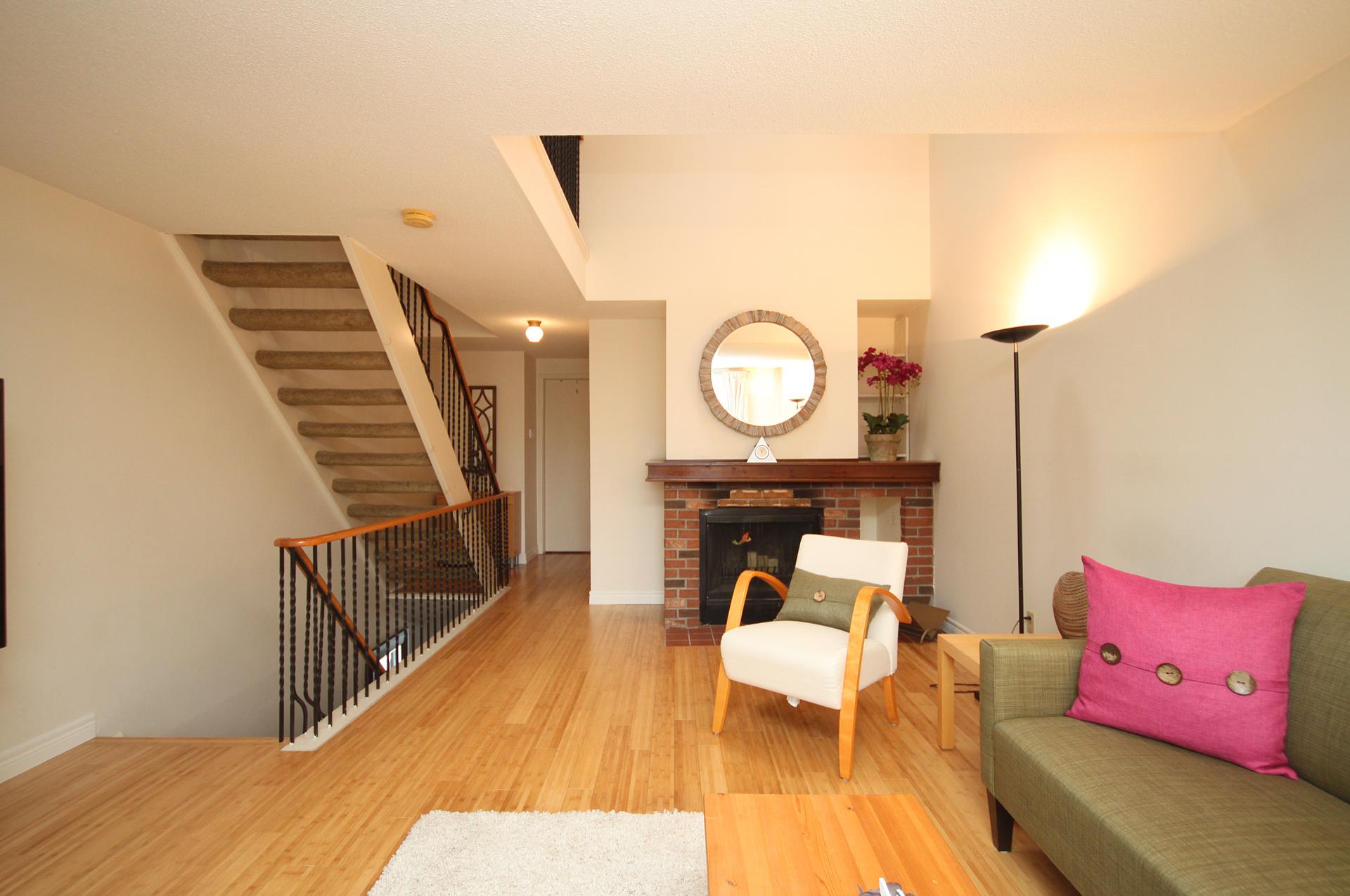 Family Room at 28 Dutch Myrtle Way, Banbury-Don Mills, Toronto