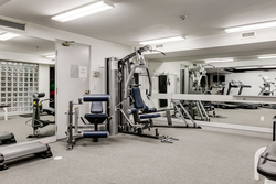 Exercise Room at PH9 - 2727 Yonge Street, Lawrence Park South, Toronto