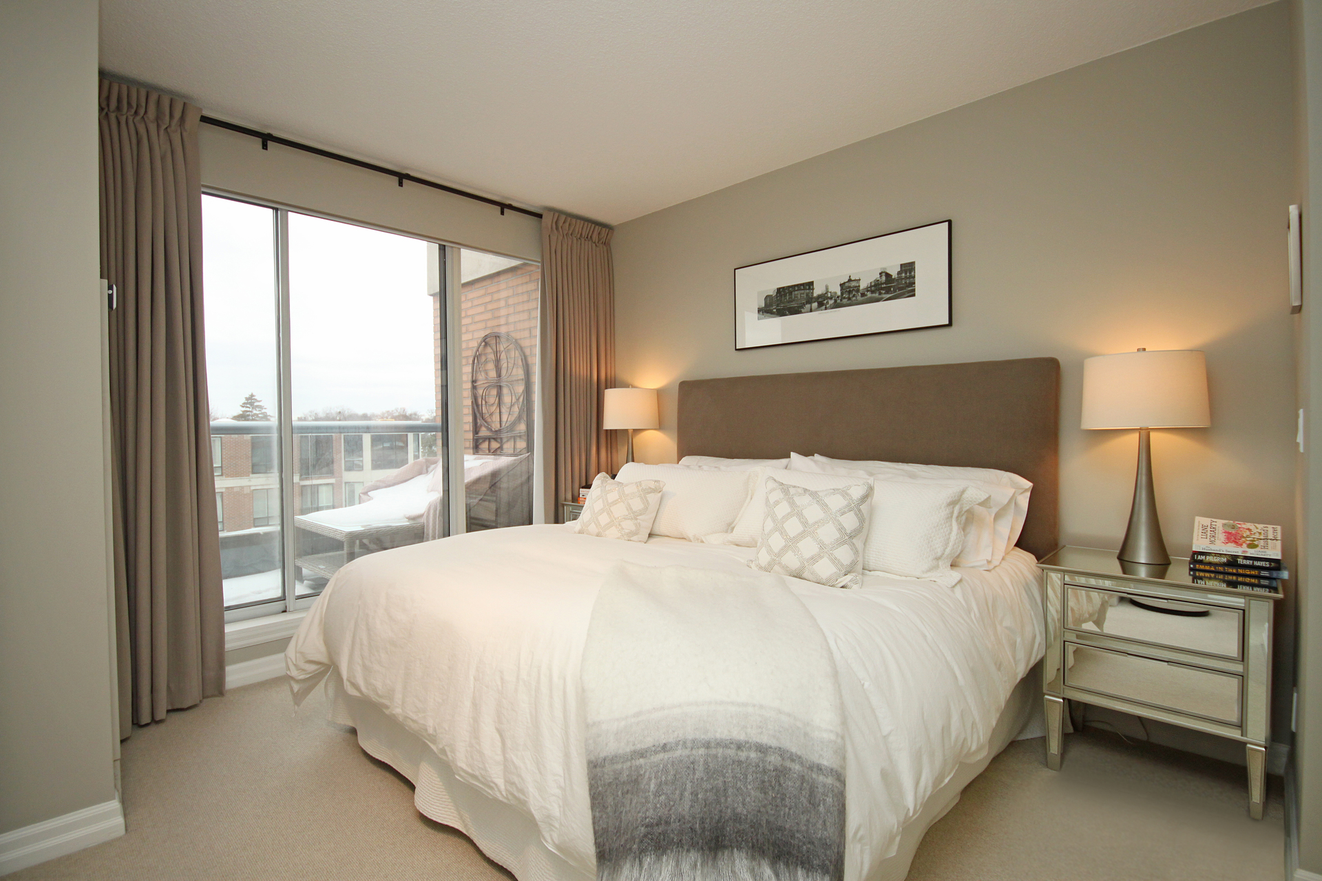 Master Bedroom at PH9 - 2727 Yonge Street, Lawrence Park South, Toronto