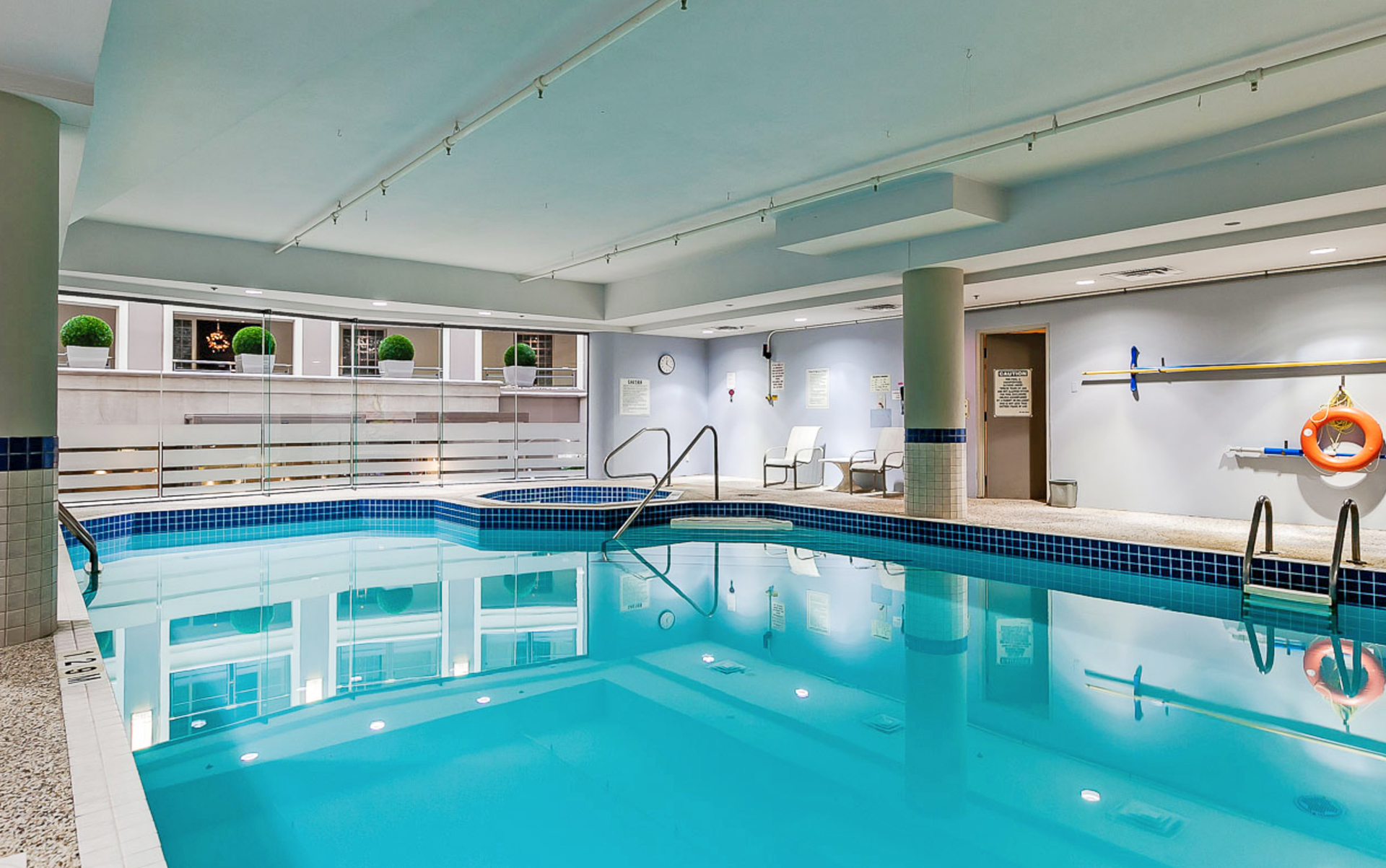 Indoor Pool at PH9 - 2727 Yonge Street, Lawrence Park South, Toronto