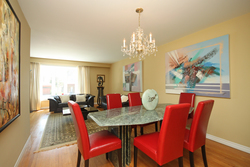 Dining Room at 172 Old Sheppard Avenue, Pleasant View, Toronto