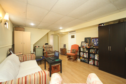 Lower Level Living Room at 172 Old Sheppard Avenue, Pleasant View, Toronto
