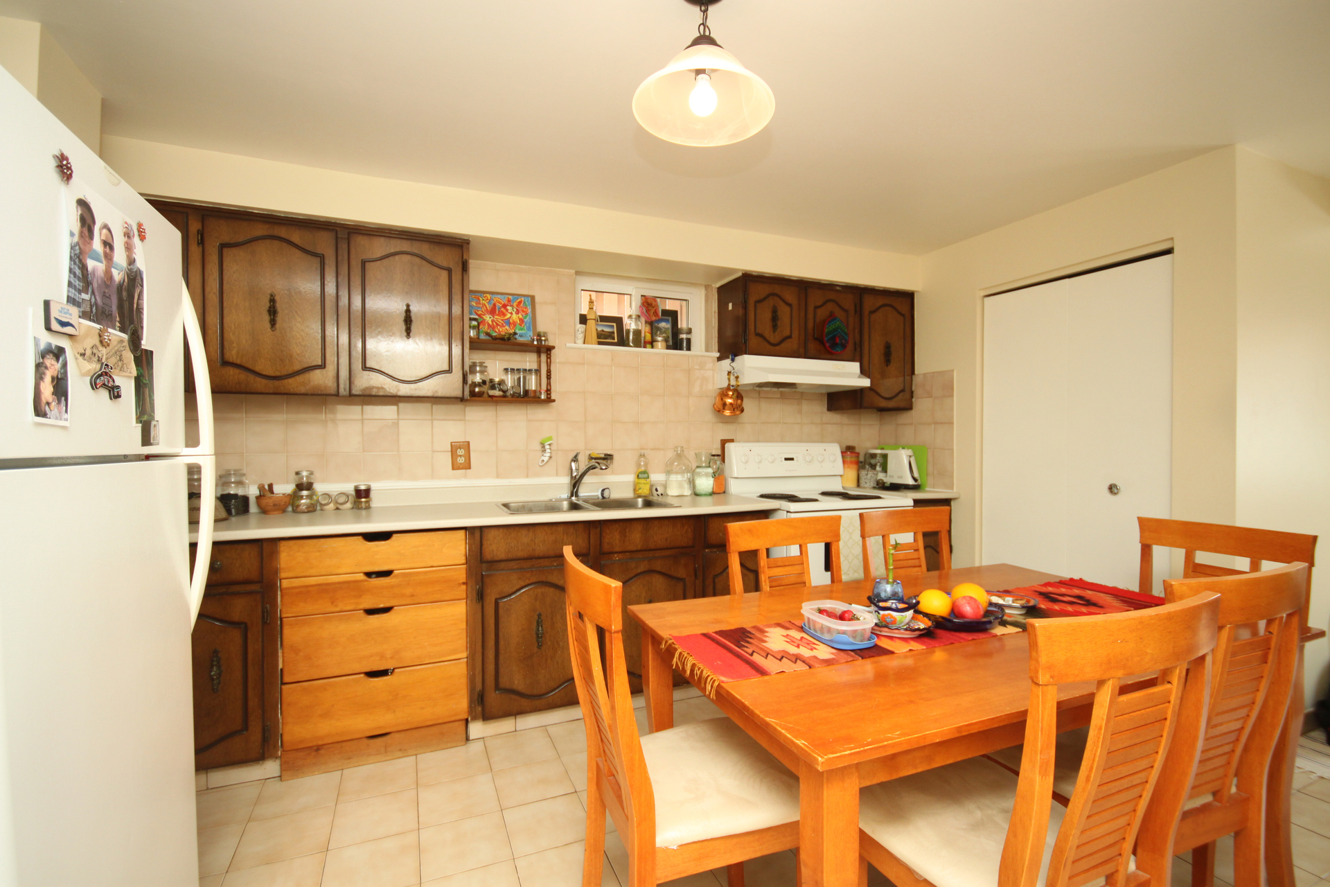 Lower Level Kitchen at 172 Old Sheppard Avenue, Pleasant View, Toronto
