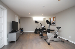Exercise Room at 97 Castlegrove Boulevard, Parkwoods-Donalda, Toronto