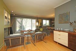 Living Room at 97 Castlegrove Boulevard, Parkwoods-Donalda, Toronto