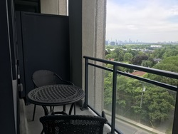 Balcony at 811 - 75 The Donway West, Banbury-Don Mills, Toronto