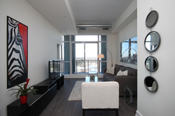 Living Room at 811 - 75 The Donway West, Banbury-Don Mills, Toronto