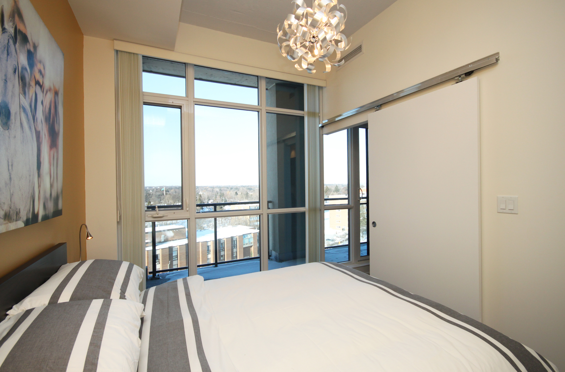 Master Bedroom at 811 - 75 The Donway West, Banbury-Don Mills, Toronto