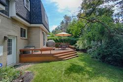 Backyard at 5 Belton Road, Banbury-Don Mills, Toronto
