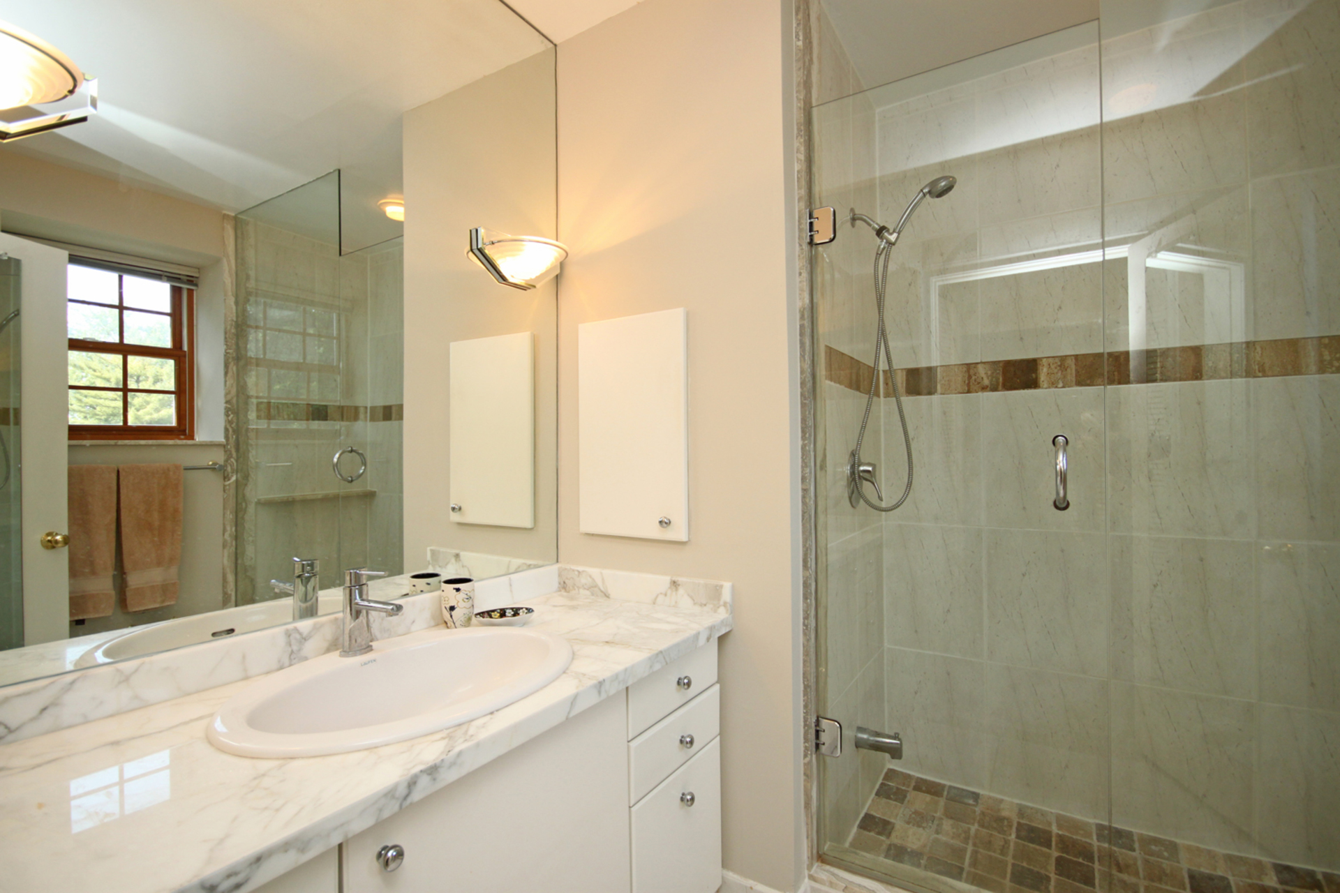3 Piece Ensuite Bathroom at 5 Belton Road, Banbury-Don Mills, Toronto