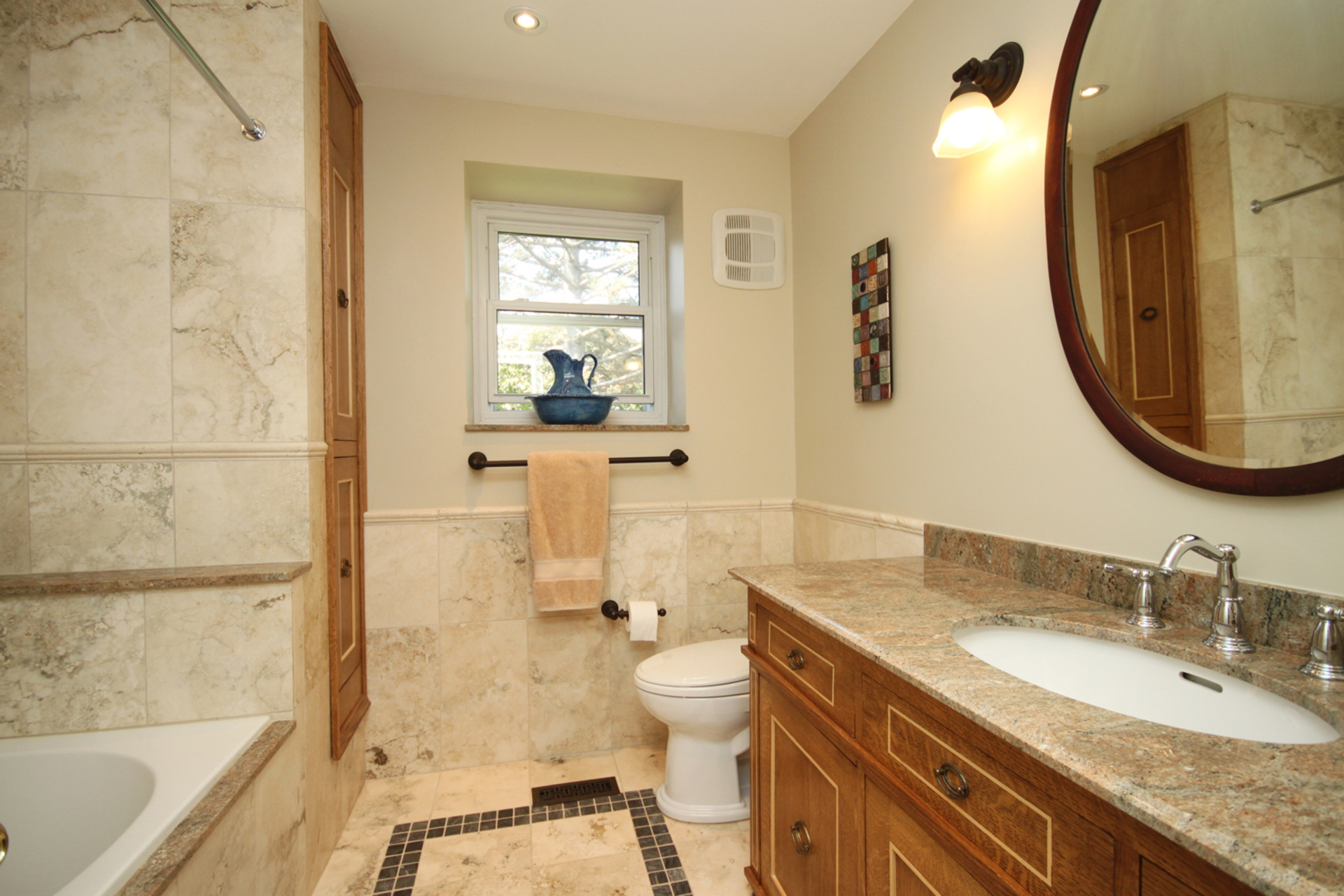4 Piece Bathroom at 5 Belton Road, Banbury-Don Mills, Toronto