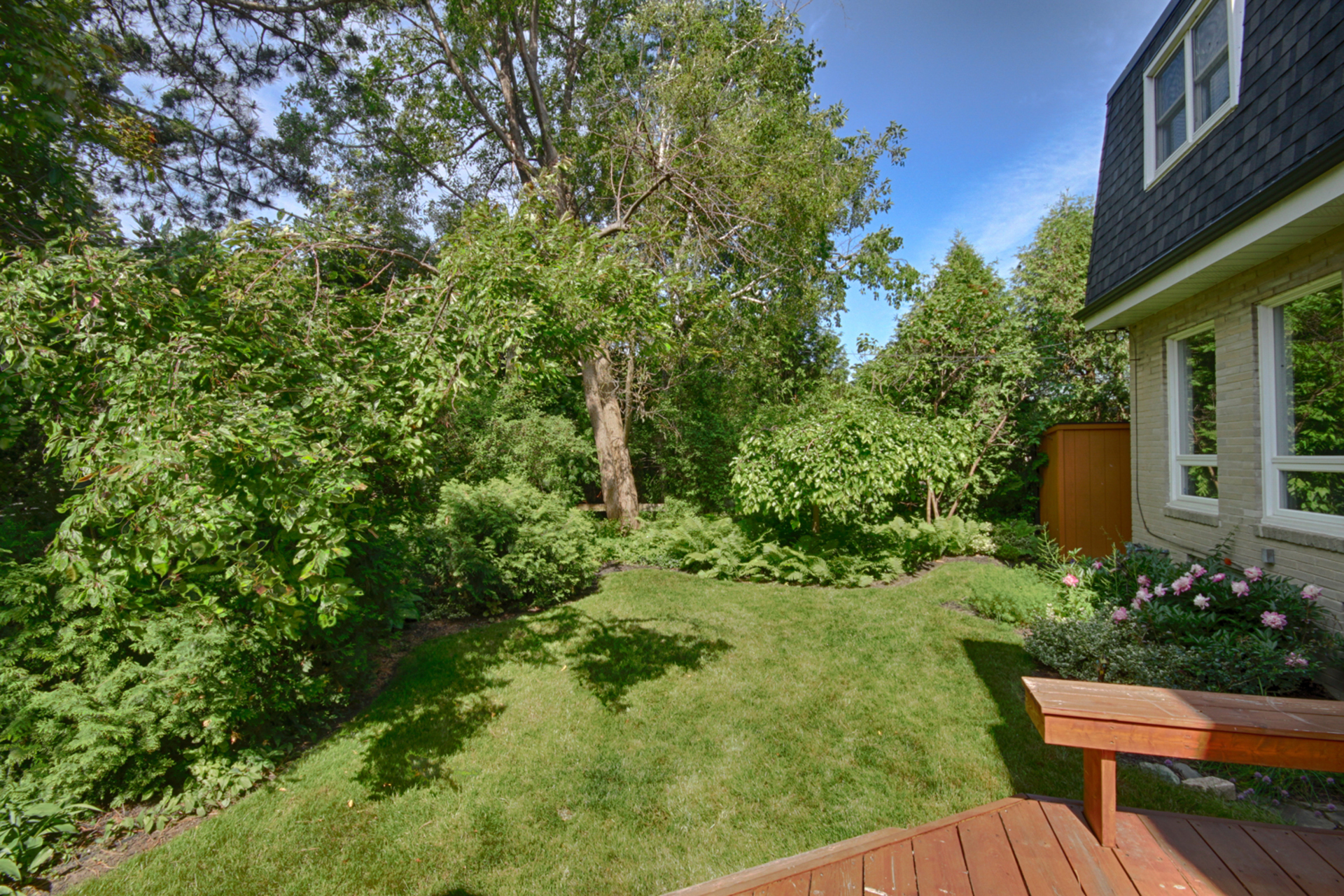 Backyard at 5 Belton Road, Banbury-Don Mills, Toronto