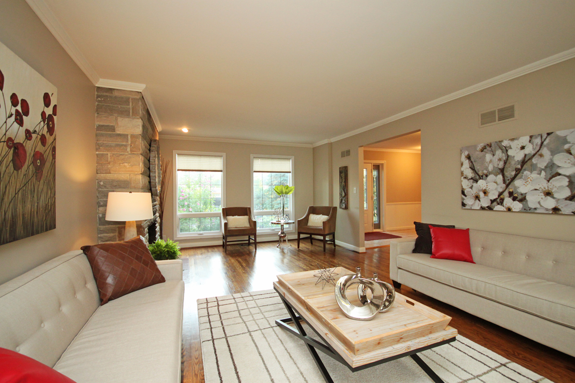 Living Room at 5 Belton Road, Banbury-Don Mills, Toronto