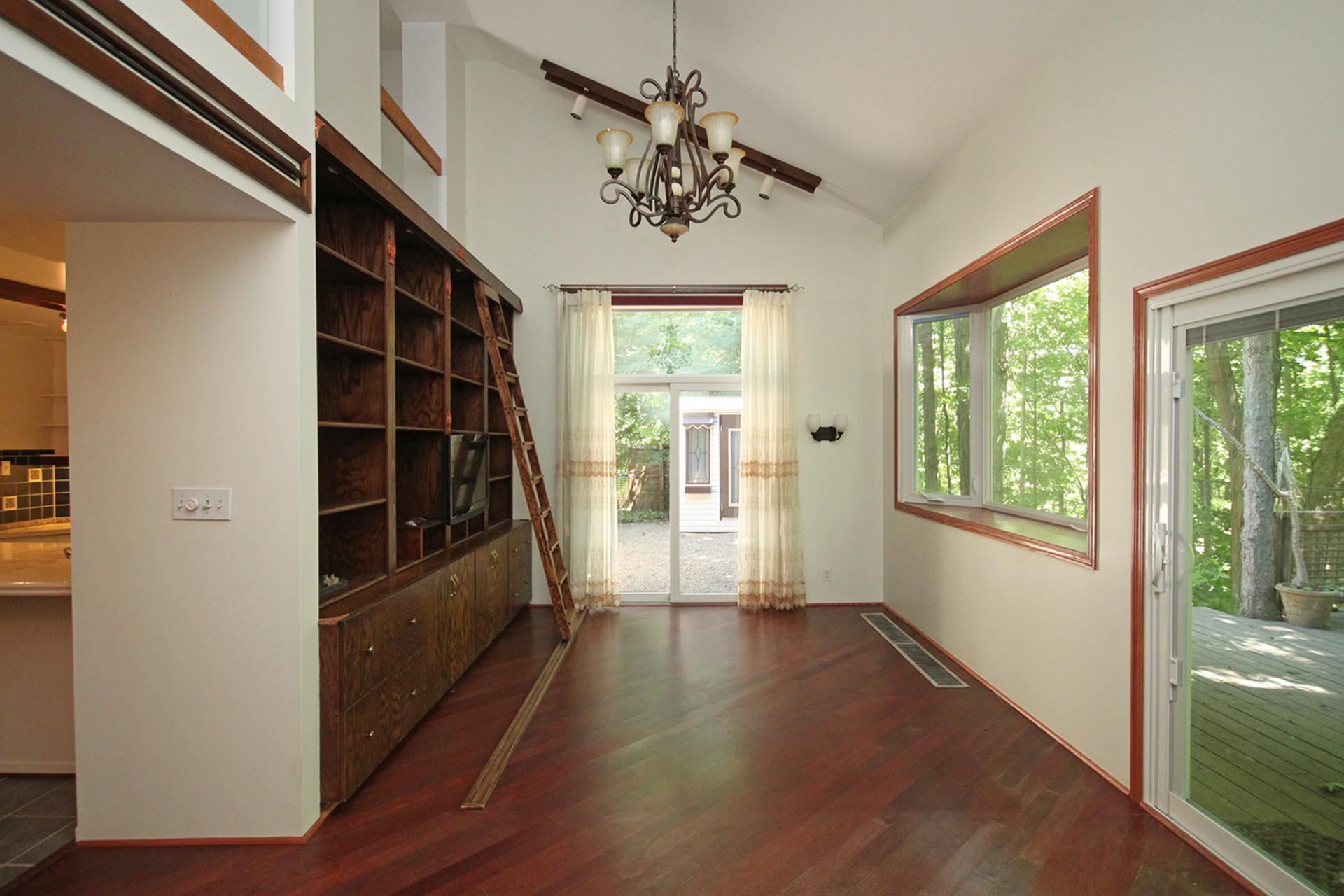 Living Room at 9 Waxwing Place, Banbury-Don Mills, Toronto
