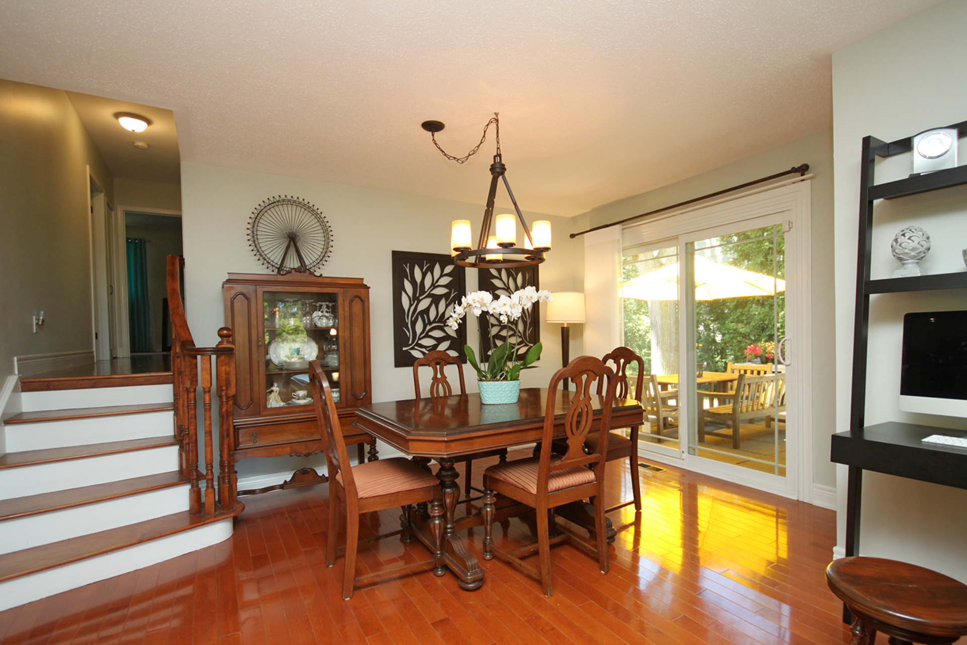 Dining Room at 25 Dunlace Drive, St. Andrew-Windfields, Toronto
