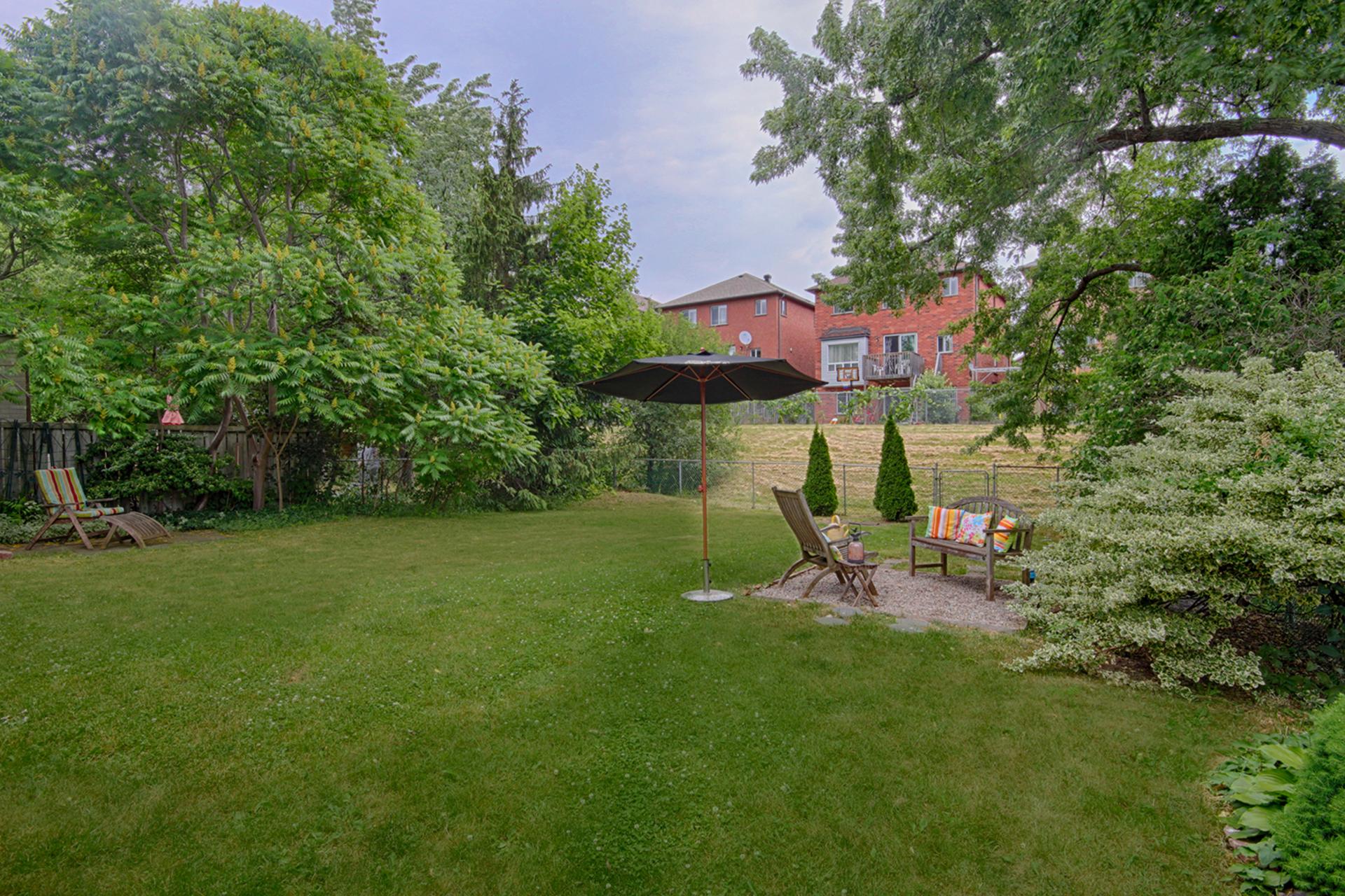 Backyard at 79 Wishing Well Drive, Tam O\'Shanter-Sullivan, Toronto