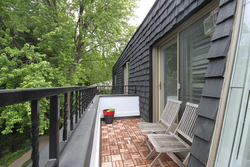 Master Bedroom Deck at 15 Brushwood Court, Parkwoods-Donalda, Toronto