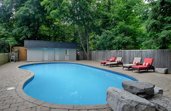 Backyard at 15 Brushwood Court, Parkwoods-Donalda, Toronto