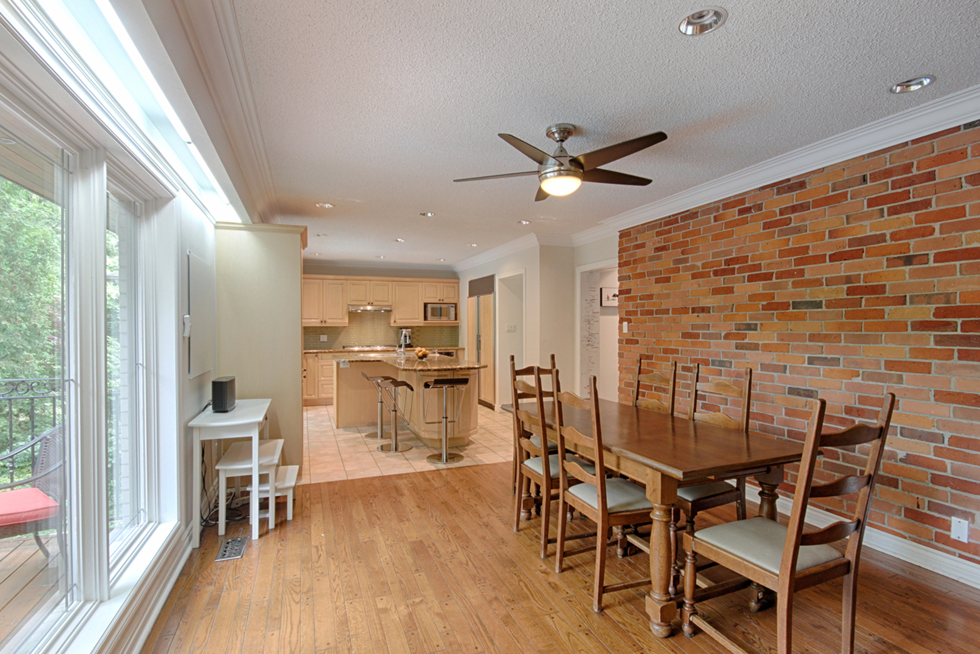 Breakfast Room at 15 Brushwood Court, Parkwoods-Donalda, Toronto