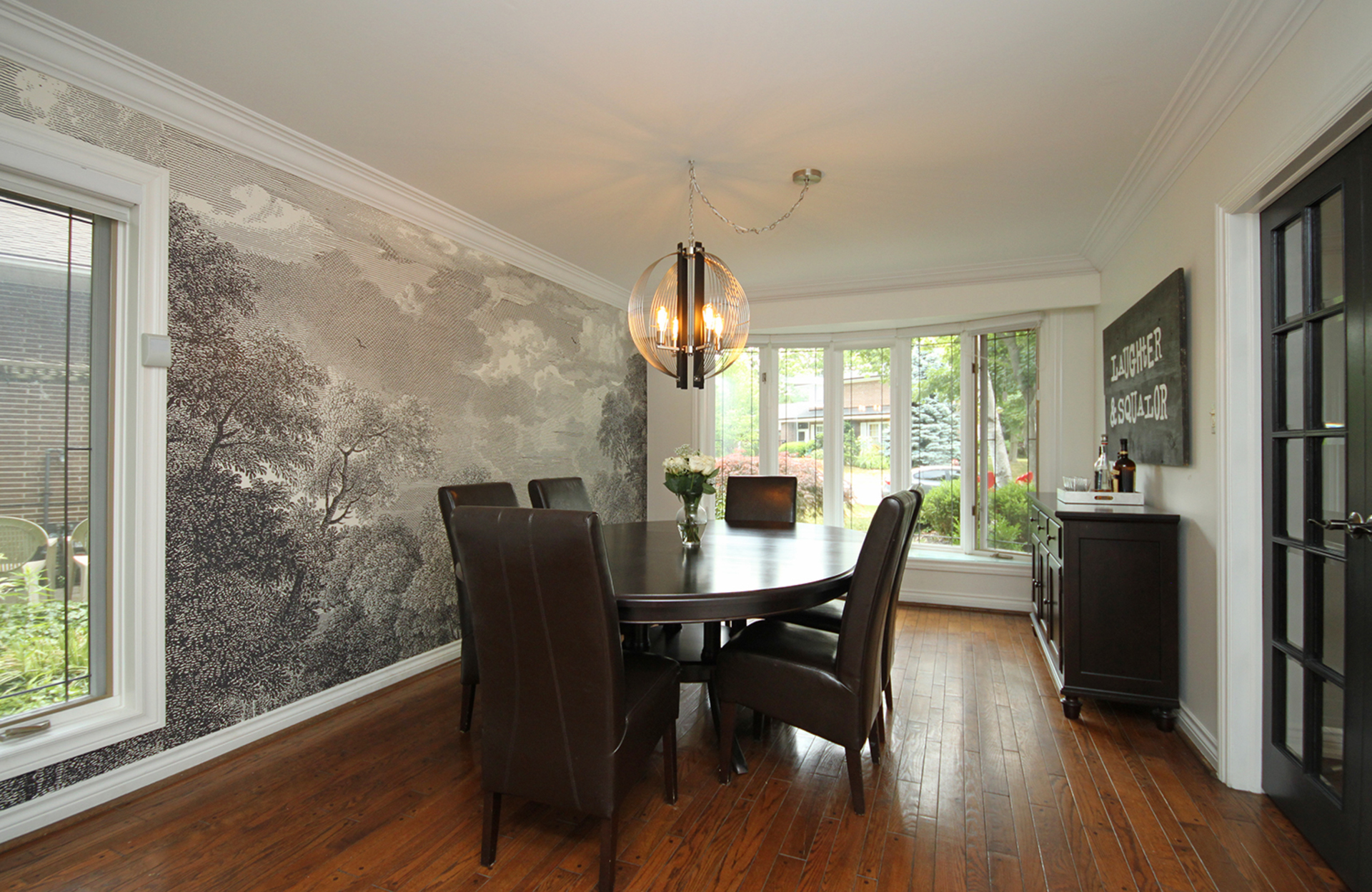 Dining Room at 15 Brushwood Court, Parkwoods-Donalda, Toronto