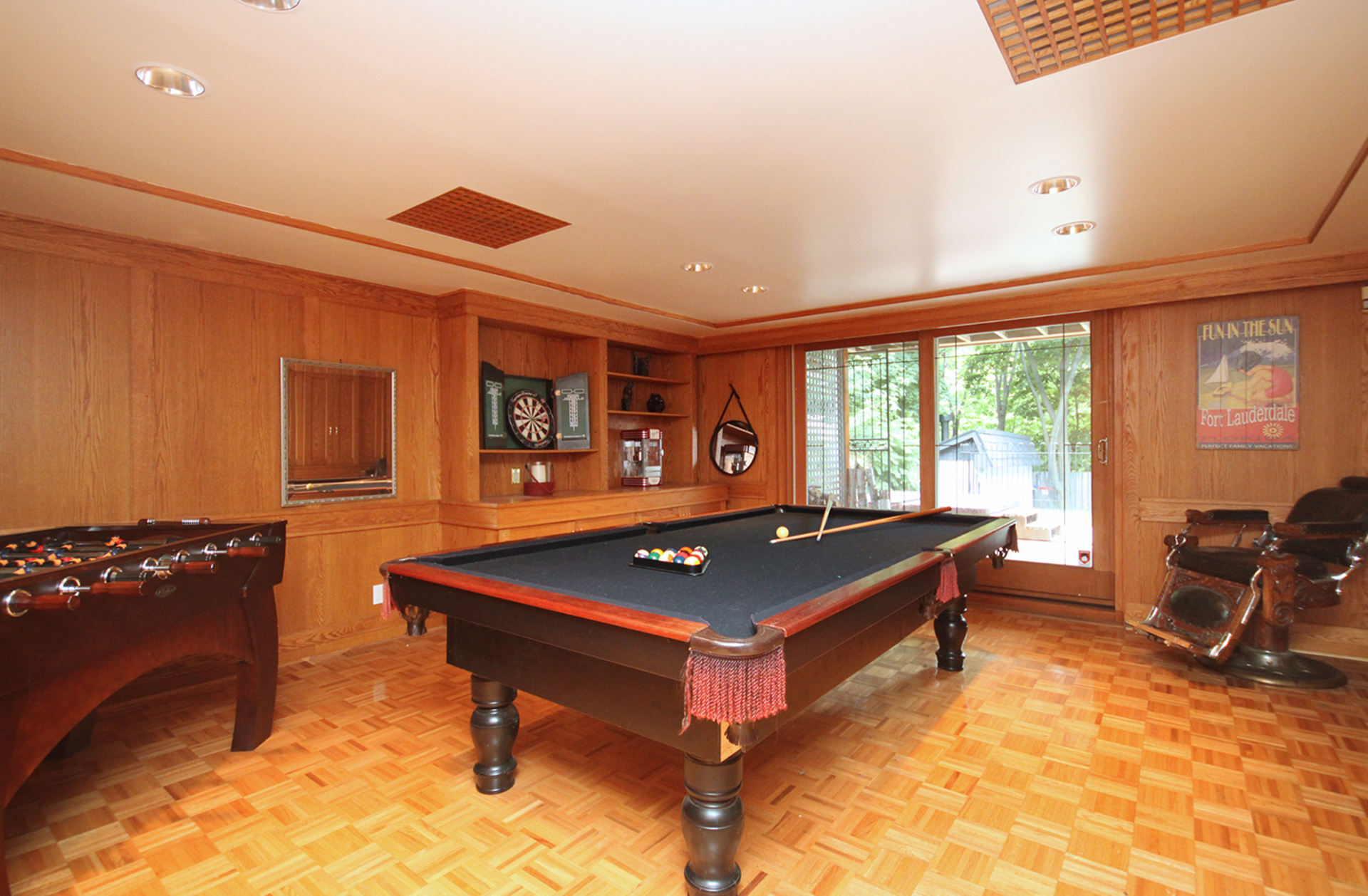 Games Room at 15 Brushwood Court, Parkwoods-Donalda, Toronto